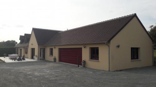 Construction d'une extension et d'un garage
