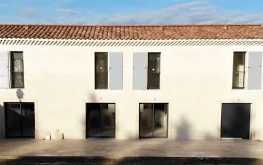 Rénovation globale d'un corps de ferme en plusieurs appartements