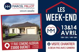 LES WEEK-END MM - 13 ET 14 AVRIL À GUÉRET