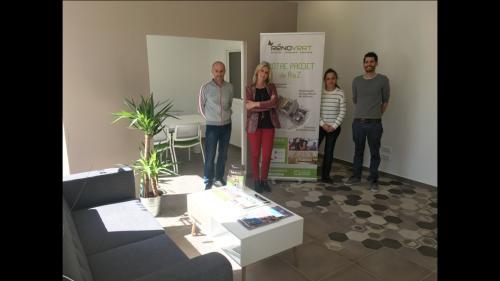 Aménagement de bureaux professionnels à La Crau 83260