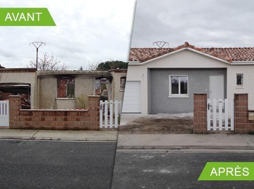 Reconstruction d'une maison à Albi 81
