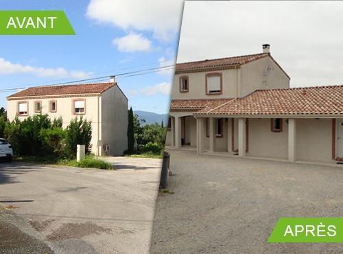 Création de deux chambres d'hôtes à Lagarrigue 81090
