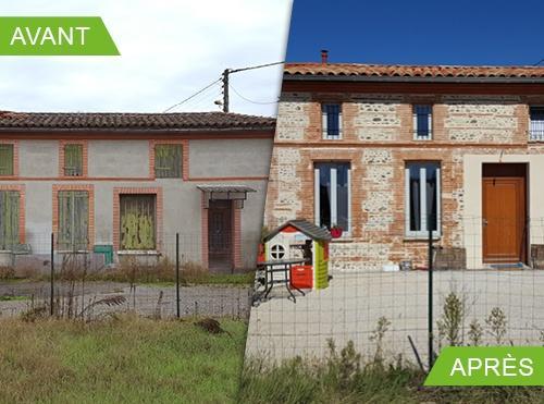 Rénovation d'une Toulousaine Quartier Borderouge à Toulouse 31200
