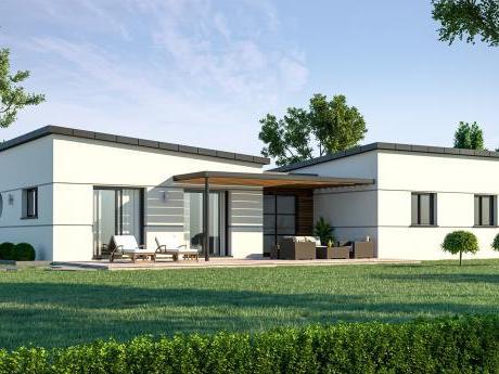 Maison contemporaine maison a` construire maison neuve plain-pied Maisons de l'Avenir