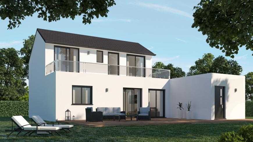 Villa moderne Maison contemporaine- Maisons de l\'Avenir
