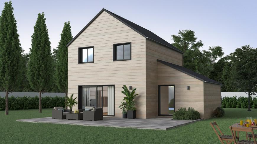 maison bois constructeur maison ossature bois maison neuve en bois