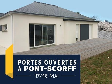 Porte ouverte à Pont-Scorff  avec Maisons de l'Avenir- Constructeur en Morbihan - Bretagne