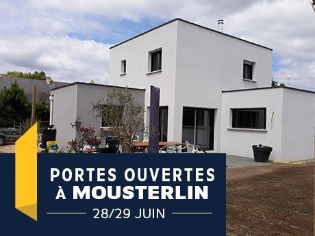 Porte ouverte à Mousterlinavec Maisons de l'Avenir- Constructeur en Finistère-Sud - Bretagne
