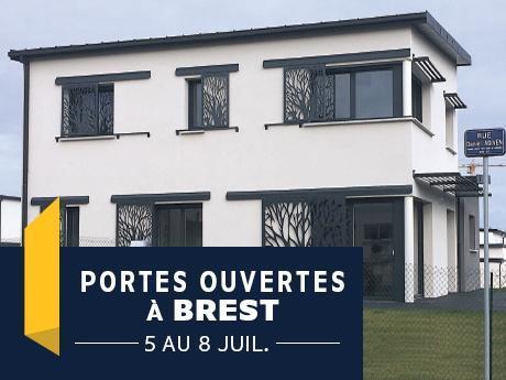 Porte ouverte à Brest avec Maisons de l'Avenir- Constructeur en Finistère - Bretagne
