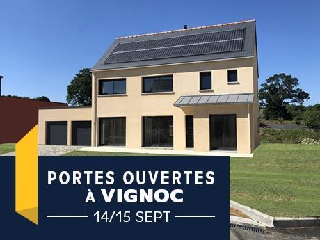 Porte ouverte à Vignoc avec Maisons de l'Avenir - Constructeur en Ile-et-Vilaine - Bretagne