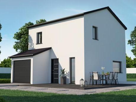 Constructeur maison neuve contruction bretagne moderne