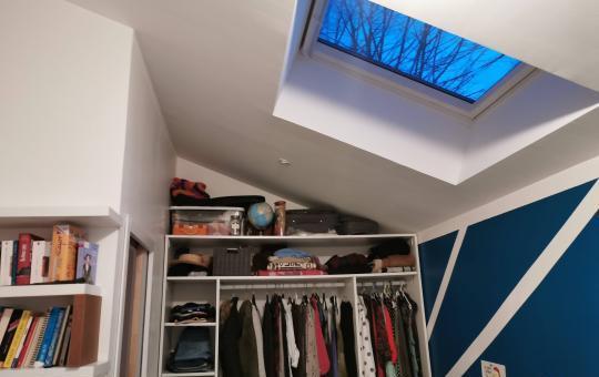 Transformation d'un garage en chambre à Verneuil-sur-Vienne (87430)