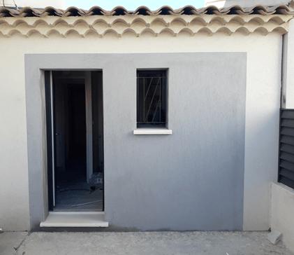Aménagement d'un garage en suite parentale et buanderie