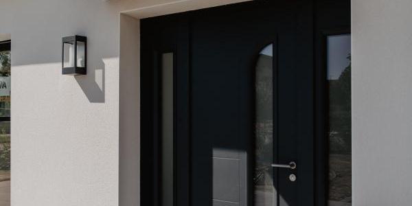 Choisir la porte d'entrée pour votre maison neuve | Tradilignes